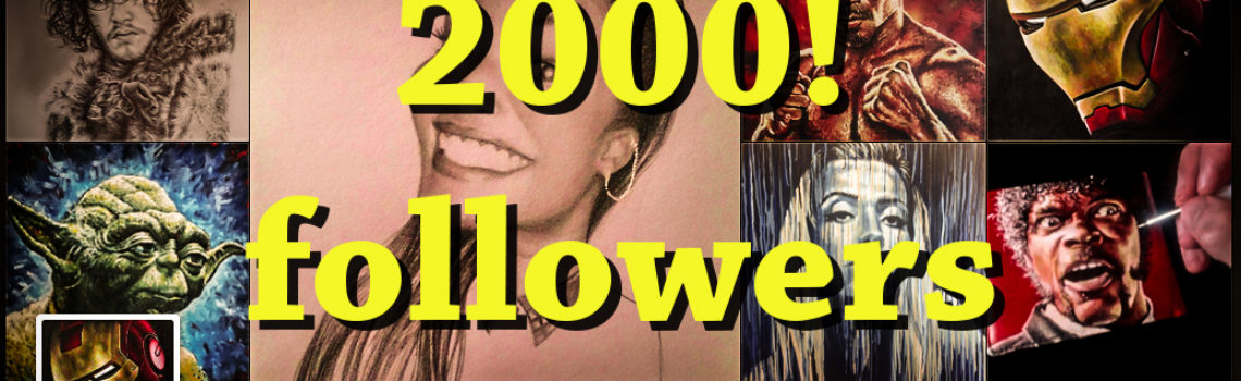 2000 Followers on Instagram!