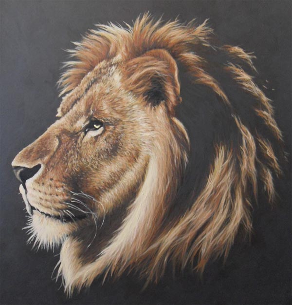 Lion Face Painting Pictures
